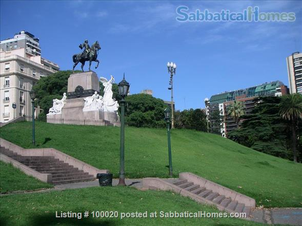 RECOLETA: Grand Apt on Exclusive Gelly y Obes Ave. Home Exchange in  0