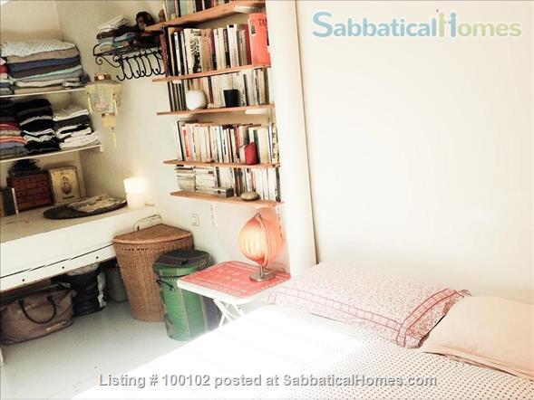 Charming artist apartment overlooking a garden / loft,  60m2, Belleville / Canal  Home Rental in Paris, IDF, France 6