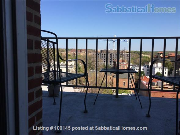Best Location in DC:  New Renovation of  Fully Furnished and Equipped Luxury Penthouse Apt.                                                                                                                         Home Rental in Washington, District of Columbia, United States 7