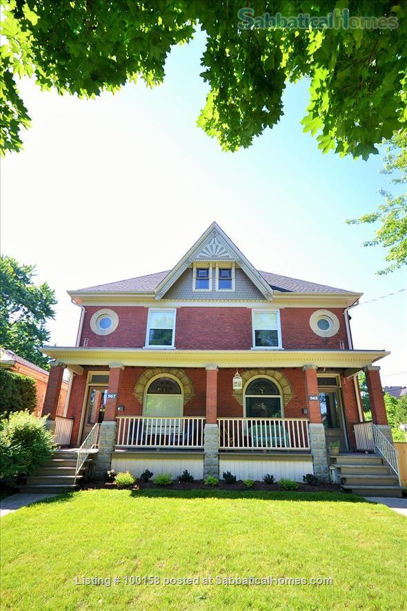 Historic Woodfied - Steps to Downtown Home Rental in London, Ontario, Canada 1