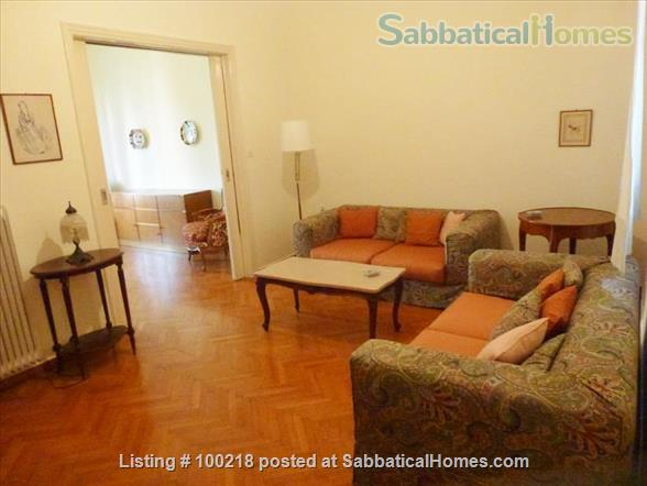 Two-bedroom flat in Athens with vintage furniture Home Rental in Athina, , Greece 0