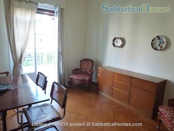 Two-bedroom flat in Athens with vintage furniture Home Rental in Athina, , Greece 2