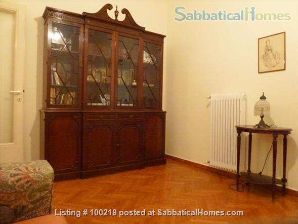 Two-bedroom flat in Athens with vintage furniture Home Rental in Athina, , Greece 3
