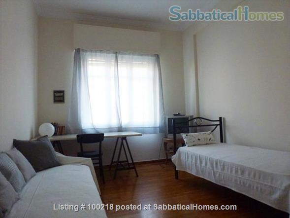 Two-bedroom flat in Athens with vintage furniture Home Rental in Athina, , Greece 5