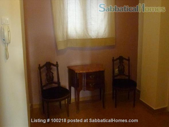 Two-bedroom flat in Athens with vintage furniture Home Rental in Athina, , Greece 6
