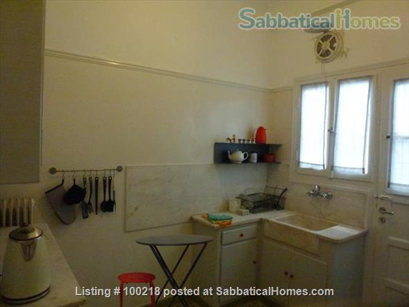 Two-bedroom flat in Athens with vintage furniture Home Rental in Athina, , Greece 8
