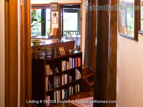 a rainforest pole home, backing onto the cassowary hills with views of the coral sea Home Rental in Killaloe, QLD, Australia 9