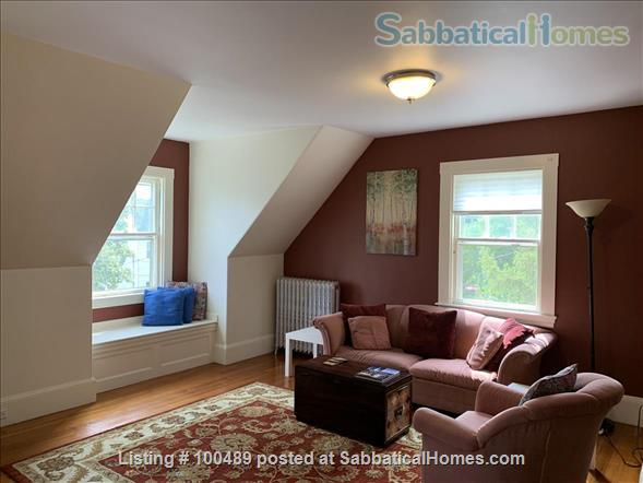 Sunny and Charming 2 BR in Historic Victorian in Arlington Center Home Rental in Arlington, Massachusetts, United States 1