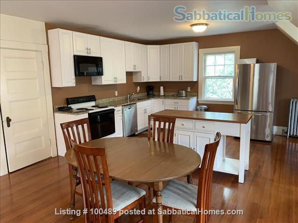 Sunny and Charming 2 BR in Historic Victorian in Arlington Center Home Rental in Arlington, Massachusetts, United States 2