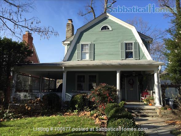 Charming Family Home in Northwest DC Home Rental in Washington, District of Columbia, United States 1