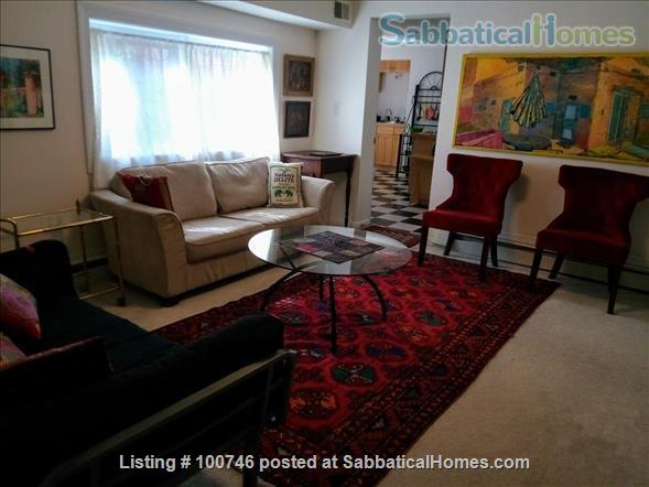 Upper NW  DC: Large  furnished 2 Bedroom English Basement Apartment Home Rental in Washington, District of Columbia, United States 2