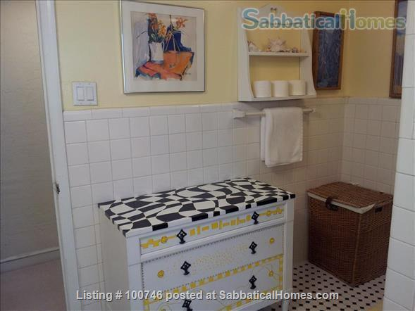 Upper NW  DC: Large  furnished 2 Bedroom English Basement Apartment Home Rental in Washington, District of Columbia, United States 7