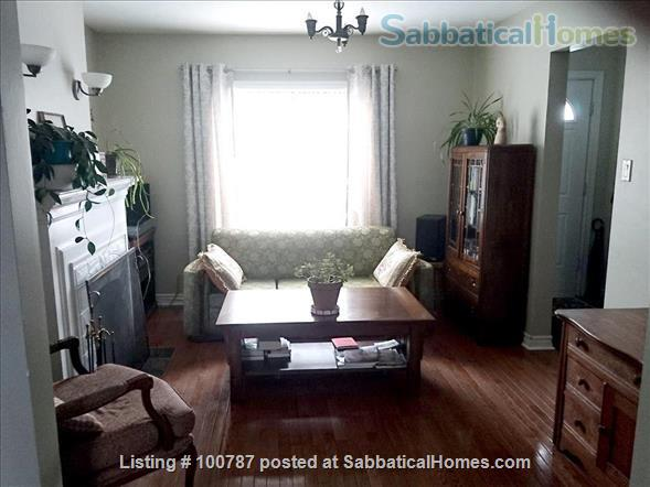 Quiet and convenient two plus bedroom house close to the Junction area. Home Exchange in Toronto 4