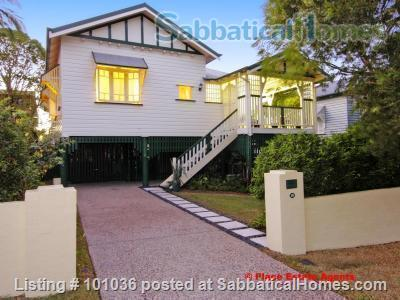 Brisbane - Beautiful fully furnished Traditional Queenslander home in quiet location, 4.5 kms from Centre of Brisbane City, short walk to Coorparoo junction buses, easy access to UQ, QUT, Mater and PA Home Rental in Coorparoo, QLD, Australia 1