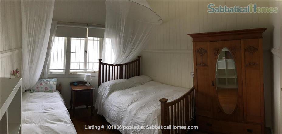 Brisbane - Beautiful fully furnished Traditional Queenslander home in quiet location, 4.5 kms from Centre of Brisbane City, short walk to Coorparoo junction buses, easy access to UQ, QUT, Mater and PA Home Rental in Coorparoo, QLD, Australia 5