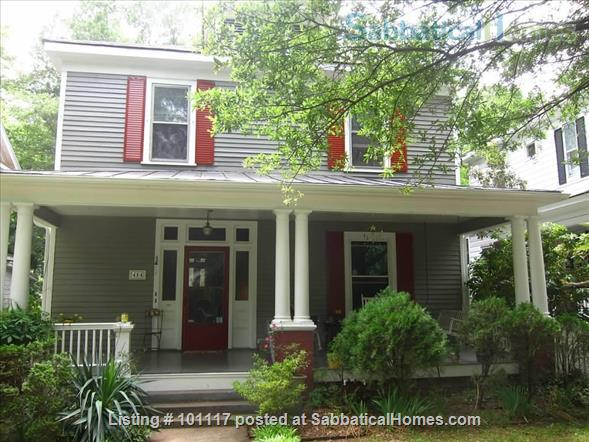 Beautiful 9-month rental in historic downtown Raleigh! Home Rental in Raleigh, North Carolina, United States 1