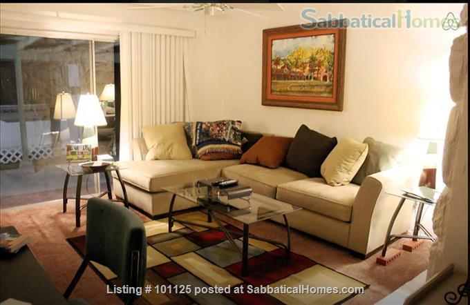 Central, 2bd, 2ba, 2 office space, deck Redlands home near U of Redlands Home Rental in Redlands, California, United States 1