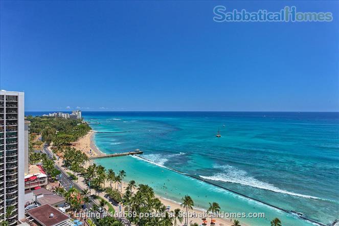 Waikiki Beachfront Gem Home Rental in Honolulu, Hawaii, United States 3