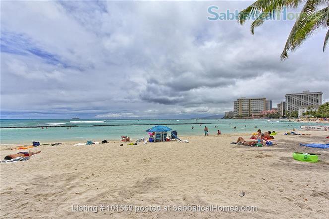 Waikiki Beachfront Gem Home Rental in Honolulu, Hawaii, United States 4