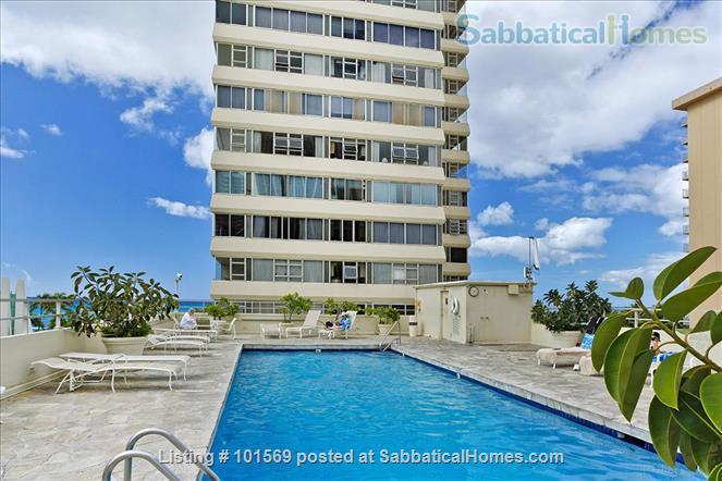 Waikiki Beachfront Gem Home Rental in Honolulu, Hawaii, United States 7