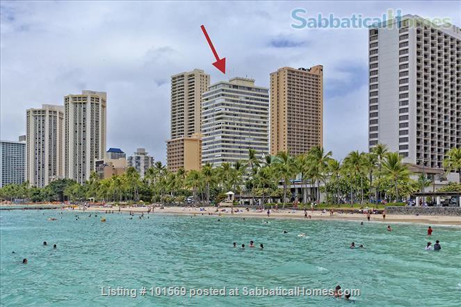 Waikiki Beachfront Gem Home Rental in Honolulu, Hawaii, United States 8
