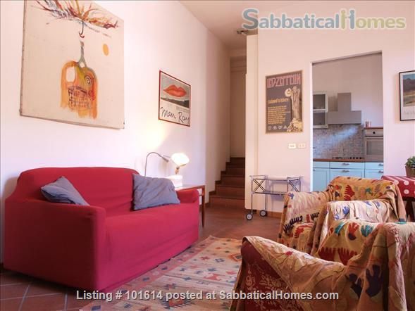 flat in Trastevere with terrace Home Rental in Rome, Lazio, Italy 1