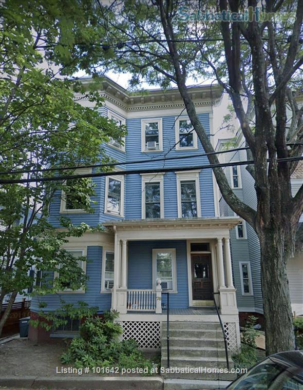 Harvard Sq, Cambridge, Beautiful, furnished 3BR 1200sqf apt. with backporch Home Rental in Cambridge, Massachusetts, United States 1