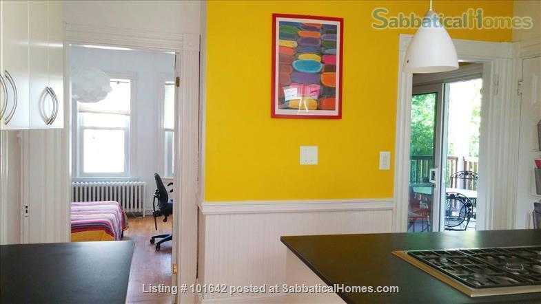 Harvard Sq, Cambridge, Beautiful, furnished 3BR 1200sqf apt. with backporch Home Rental in Cambridge, Massachusetts, United States 3