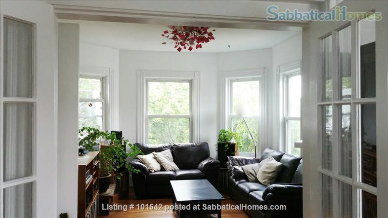 Harvard Sq, Cambridge, Beautiful, furnished 3BR 1200sqf apt. with backporch Home Rental in Cambridge, Massachusetts, United States 5