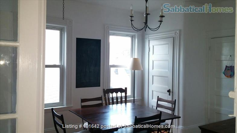Harvard Sq, Cambridge, Beautiful, furnished 3BR 1200sqf apt. with backporch Home Rental in Cambridge, Massachusetts, United States 6