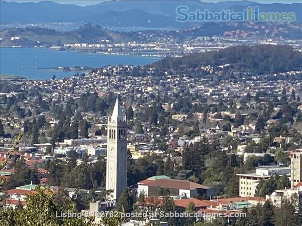 Master suite in  Berkeley Hills Home: Separate Private Entrance Home Rental in Berkeley, California, United States 9