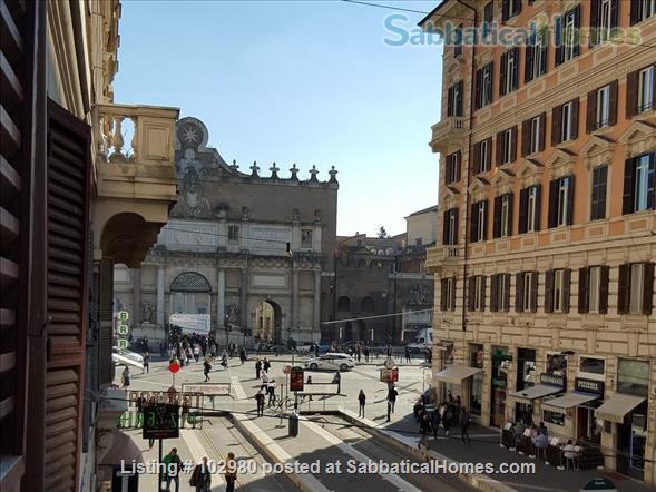 Piazza del Popolo 4 bed, exclusive apartment, in pedestrian via flaminia area  Home Rental in Roma, Lazio, Italy 0