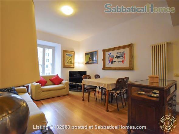 Piazza del Popolo 4 bed, exclusive apartment, in pedestrian via flaminia area  Home Rental in Roma, Lazio, Italy 2