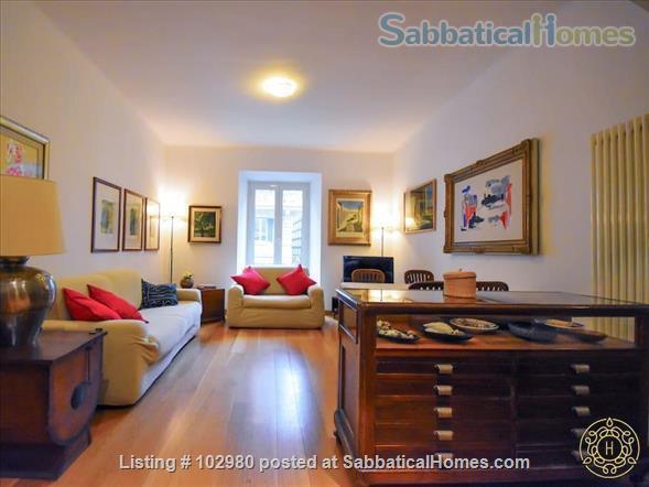 Piazza del Popolo 4 bed, exclusive apartment, in pedestrian via flaminia area  Home Rental in Roma, Lazio, Italy 3