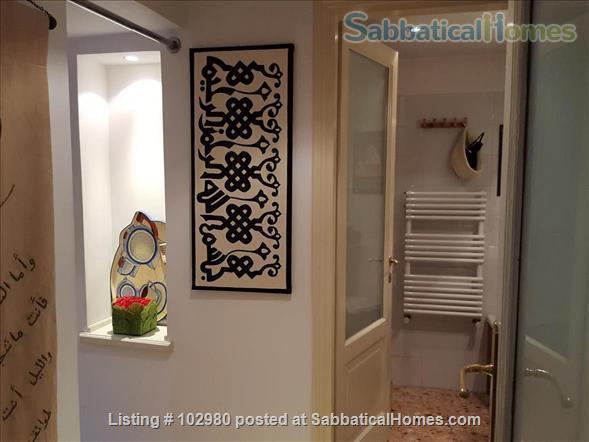 Piazza del Popolo 4 bed, exclusive apartment, in pedestrian via flaminia area  Home Rental in Roma, Lazio, Italy 5