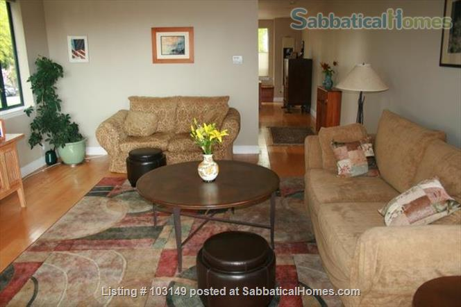 North Berkeley Town Home: 3 story, 3 bedrooms, 3 baths with GG view Home Rental in Berkeley, California, United States 6
