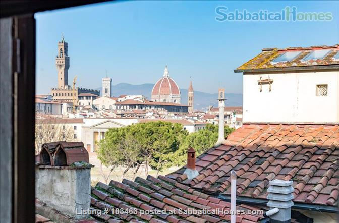 Fast WiFi, remote work (apt.3S) Deluxe 3br, 1500sqft apt  in Central Ancient Bldg w/Elevator Home Rental in Firenze, Toscana, Italy 8