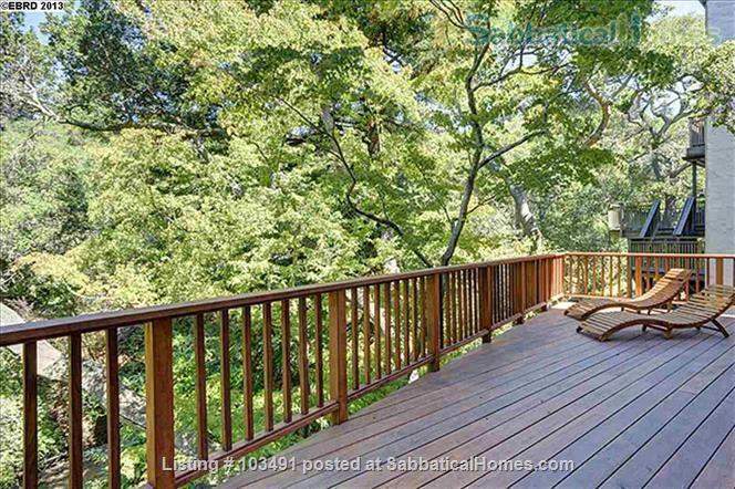 Peaceful North Berkeley in-law overlooking creek Home Rental in Berkeley, California, United States 6