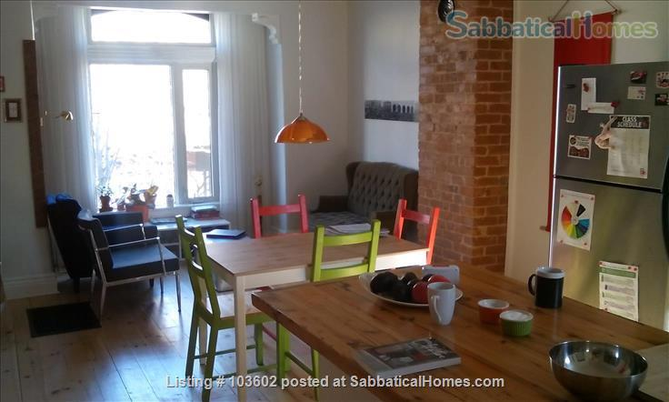 Bright, comfortable 2-Bed in Victorian in Parkdale/Roncesvalles Home Rental in Toronto, Ontario, Canada 0