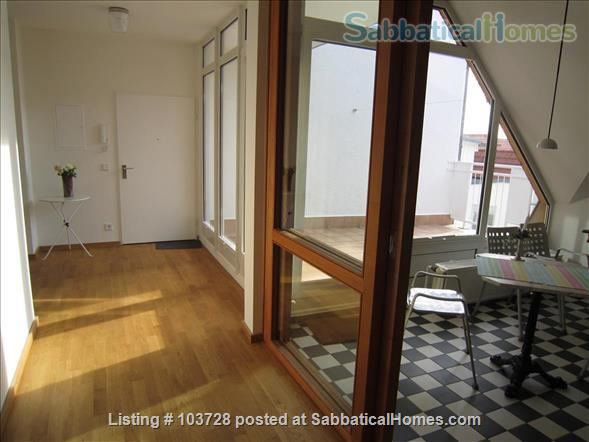 3-room attic with terrace and windows in all cardinal directions in Steglitz Home Rental in Berlin, Berlin, Germany 1