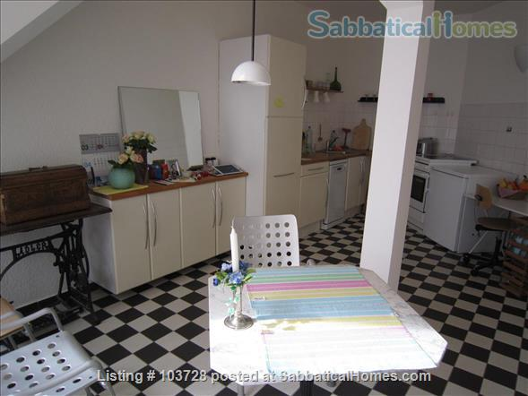 3-room attic with terrace and windows in all cardinal directions in Steglitz Home Rental in Berlin, Berlin, Germany 0