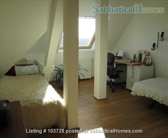 3-room attic with terrace and windows in all cardinal directions in Steglitz Home Rental in Berlin, Berlin, Germany 4