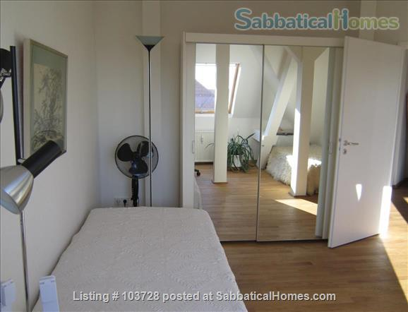 3-room attic with terrace and windows in all cardinal directions in Steglitz Home Rental in Berlin, Berlin, Germany 5