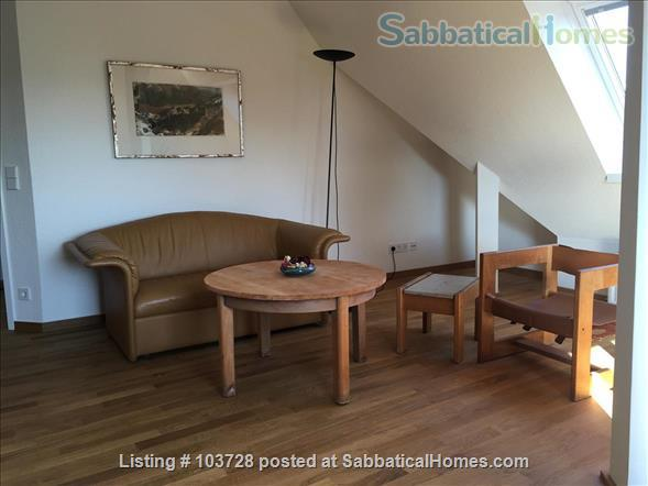 3-room attic with terrace and windows in all cardinal directions in Steglitz Home Rental in Berlin, Berlin, Germany 6