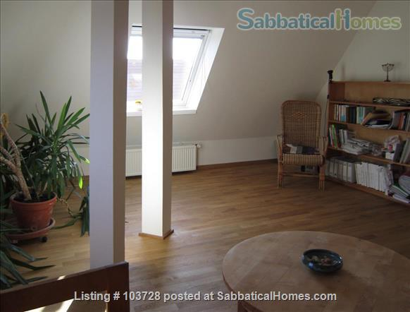 3-room attic with terrace and windows in all cardinal directions in Steglitz Home Rental in Berlin, Berlin, Germany 7