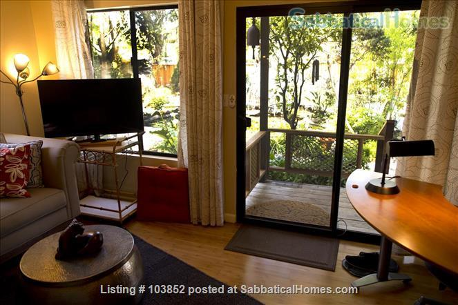 The Dream Studio  - Quarantine-safe, Thoughtfully Furnished, in Menlo Park, near Stanford Home Rental in Menlo Park 2