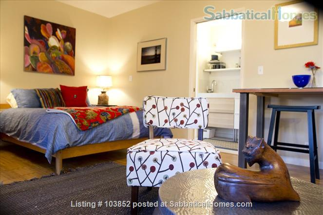The Dream Studio  - Quarantine-safe, Thoughtfully Furnished, in Menlo Park, near Stanford Home Rental in Menlo Park 4