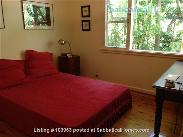 Beautiful Sydney rainforest retreat close to city Home Rental in Lane Cove, New South Wales, Australia 9