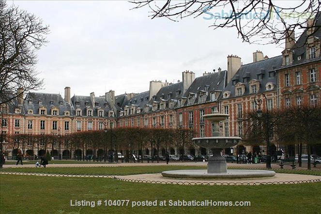 Apartment inthe heart of PARIS. Le Marais. Bastille, Place des Vosges Home Rental in Paris, Île-de-France, France 9