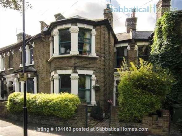 Charming 3 bedroom, 2 reception Victorian terraced house with garden, includes all taxes, water, broadband and weekly cleaning. Home Rental in Greater London, England, United Kingdom 9